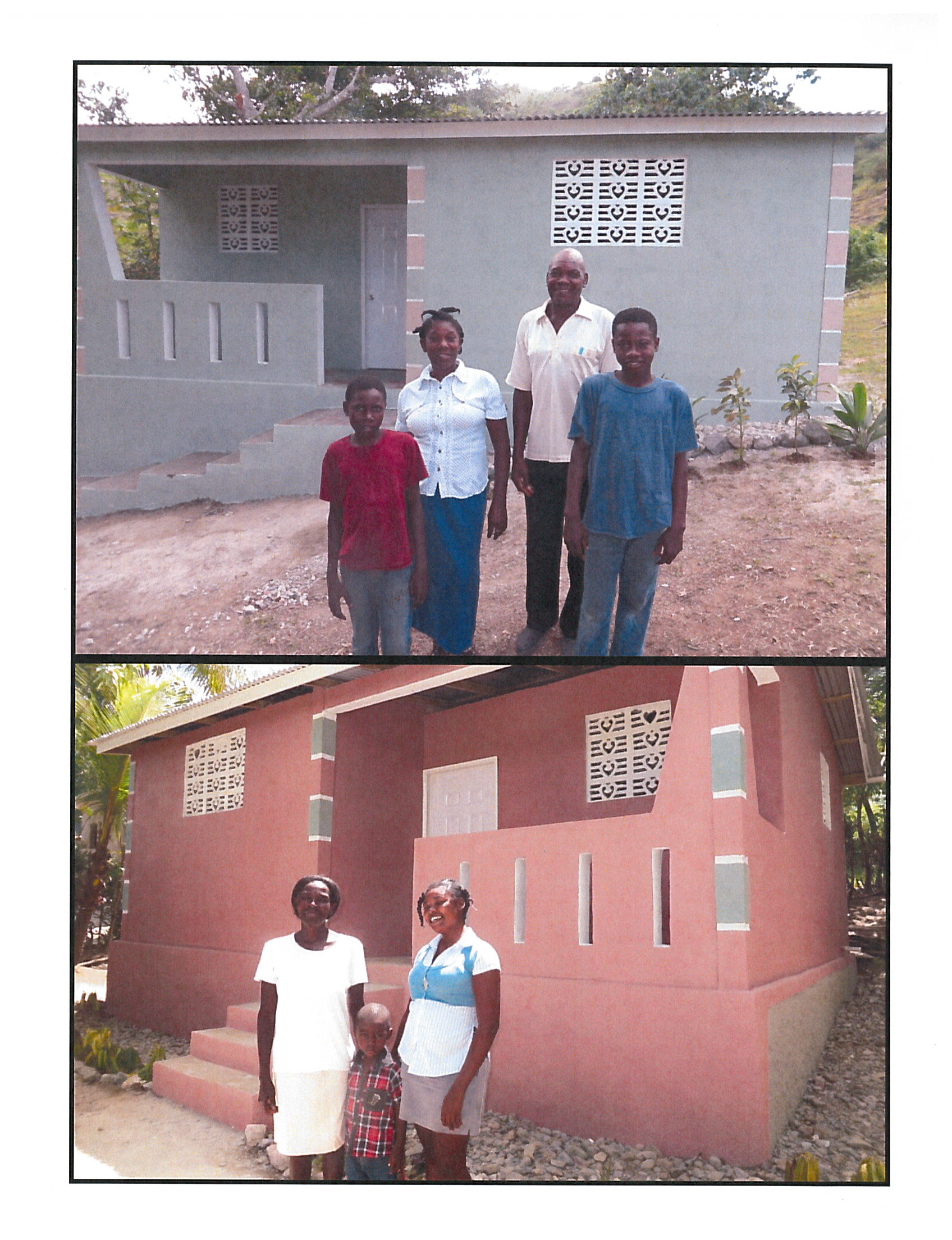 FOOD FOR THE POOR – BUILDING HOUSES IN HAITI