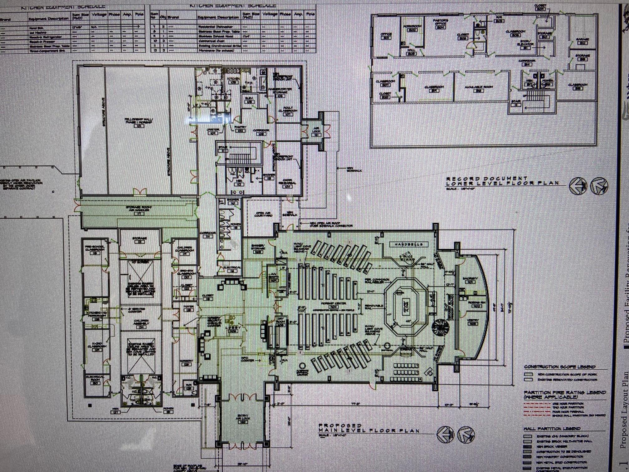 New Building Design – Inside